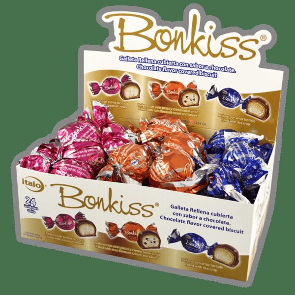 Bonkiss tres sabores DPx24