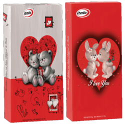 Chocolate con relleno liquido Valentín