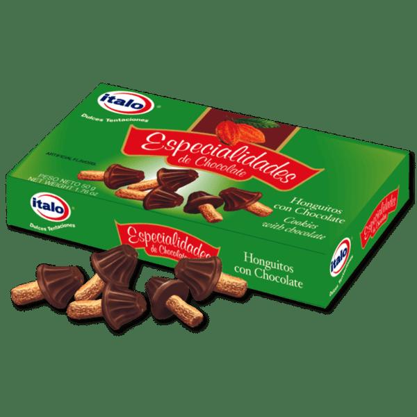 Chocolate en forma de Honguito