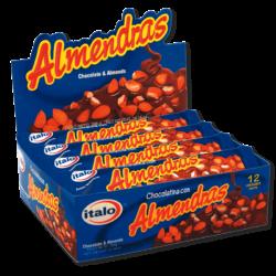 Chocolatina Almendras DPx12