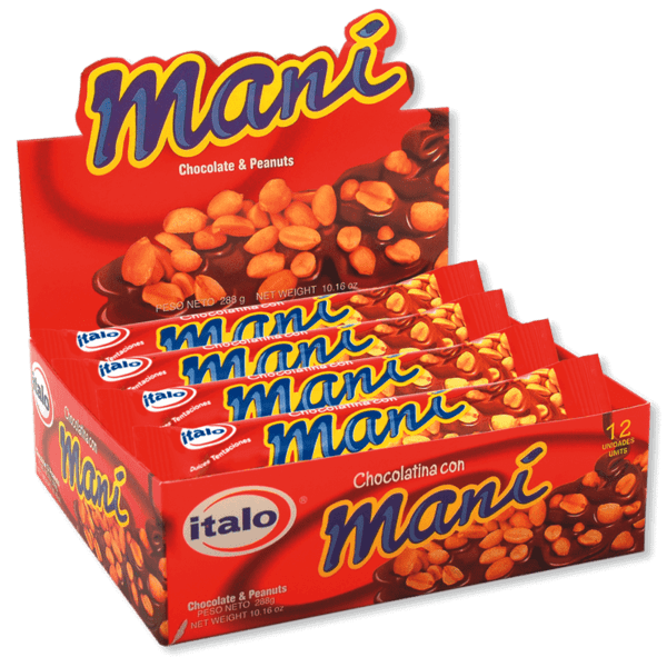Chocolatina Maní DPx12
