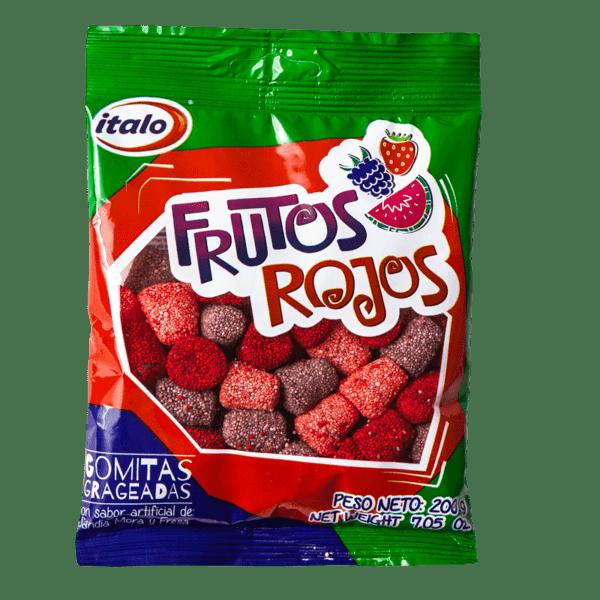 Gomas Frutos Rojos 200gr