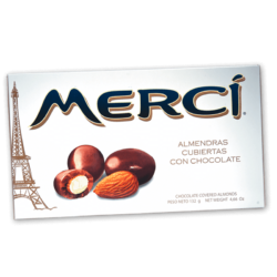 Merci Almendras con chocolate  132gr