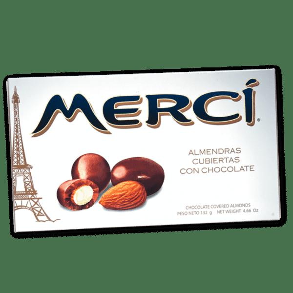 Merci Almendras con chocolate  132gr