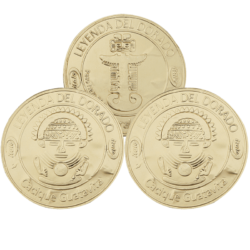 Monedas de chocolate BX20