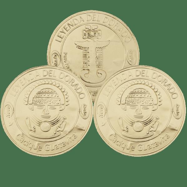 Monedas de chocolate BX20