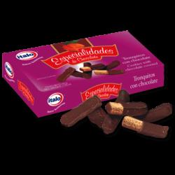 Tronquitos de chocolate